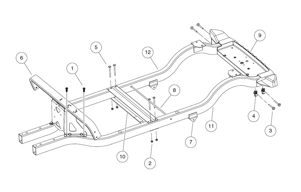 2016 Precedent - Illustrated Parts List